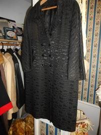 Vintage Brocade Coat