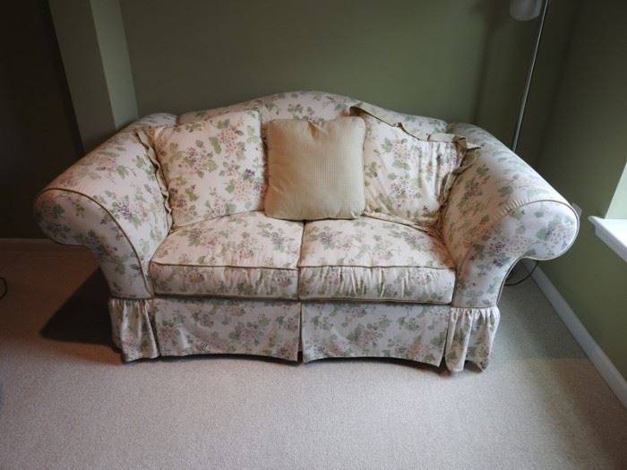 Belfort Furniture Fabric Loveseat