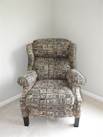 Ethan Allan Upholstered Reclining Chair