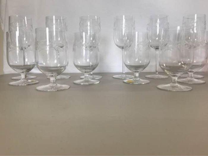 Etched crystal wine glasses https://ctbids.com/#!/description/share/137321