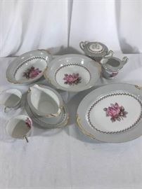 Noritake Rosemont serving pieces https://ctbids.com/#!/description/share/137324