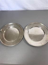 Pair of sterling silver plates. 16 oz each. https://ctbids.com/#!/description/share/137330