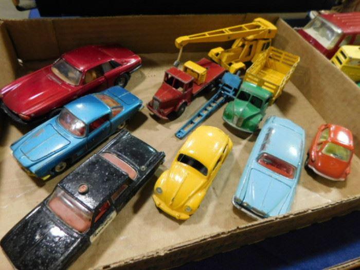 Vintage Matchbox corgi dinky cars