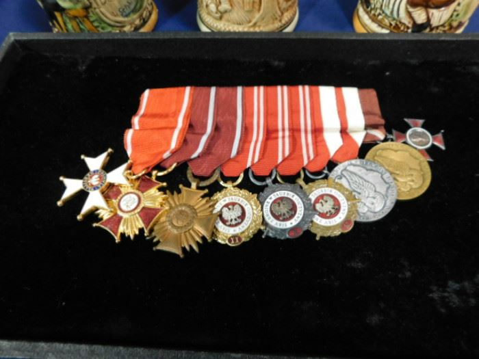 Cold War Polish military medals