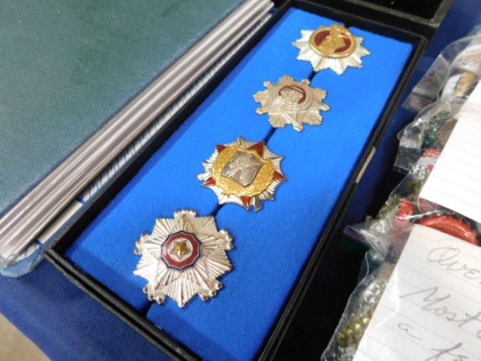North Korea military medals