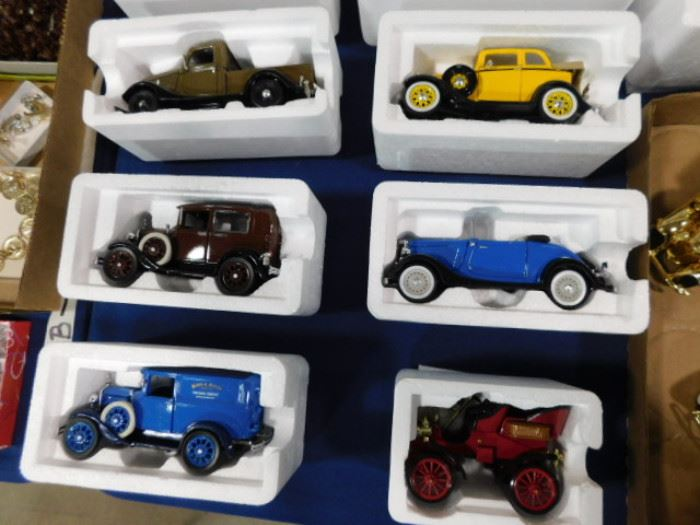 Golden Age Ford Diecast cars