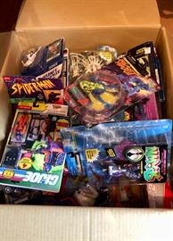 Loads of collectible toys!