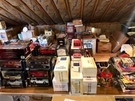 Collectible die cast cars