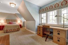 Upholstered Bed $250 Desk $250 Chair $100