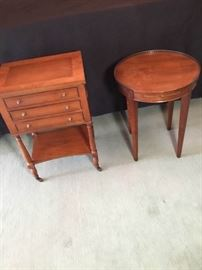 Accent Tables  Antique Vintage 2 Tables