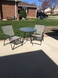 Small Patio Table & Chairs