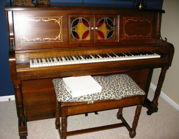 Cabaret player piano   beautiful working   MAKE ME A OFFER AND BUY IT NOW