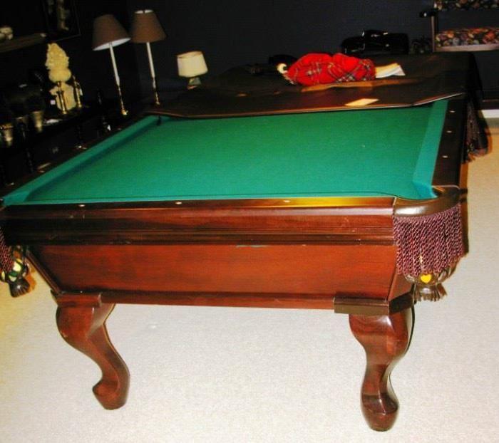 beautiful billiard table   BUY IT NOW  $ 800.00