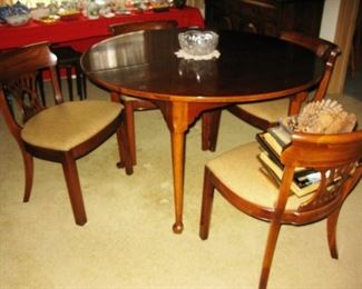 Morganton dining table & chairs  BUY IT NOW $ 385.00