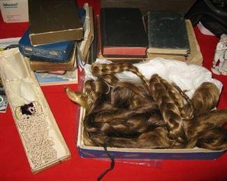 over 6' of human hair braid