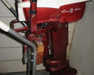 Johnson 10HP outboard motor  BUY IT NOW $ 245.00