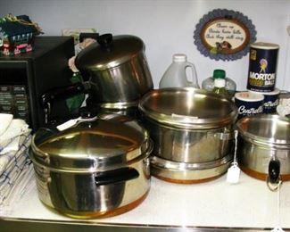Revere 1801 pot and pan set