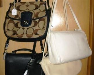 few Coach purses