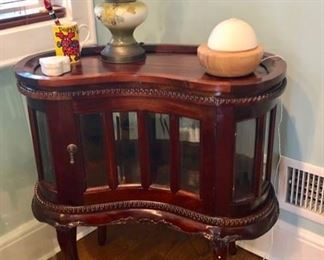 Pair plus other Small occasional tables, cabinets & chairs