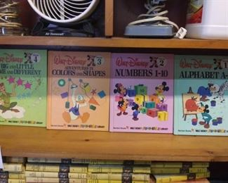 Complete set Walt Disney volumes 1 through 19