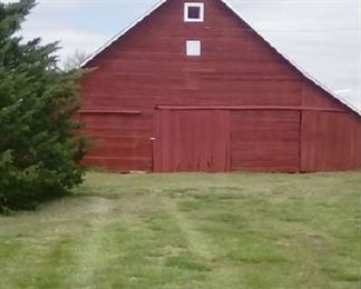 The Barn! There will be lots of items for sale in here as well as in the round top.