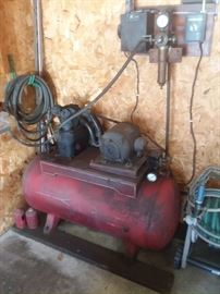 Large air compressor.  220 volt!
