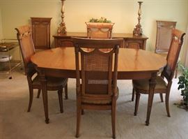 8 Chair dining room set