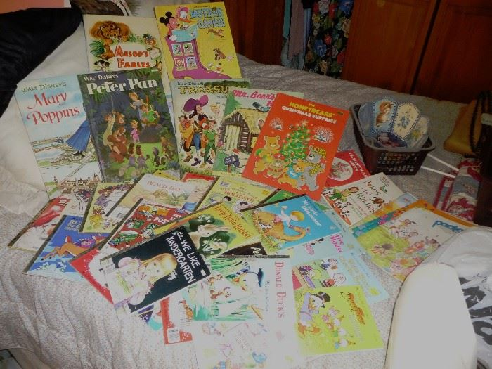 kids books and color books = there is a lot more