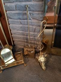 Some brass collectibles