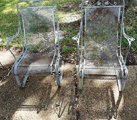 Salterini patio rocking chairs