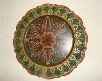 Rosemaling platter