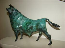 Bronze bull