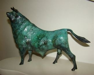 William Jauquet Bronze bull