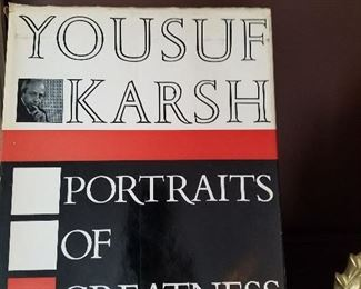 Yousuf Karsh, Portraits of Greatness book
