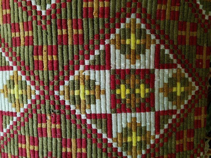 Hand woven Norwegian textile