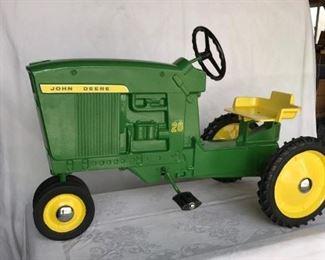 John Deere Model 20 restored pedal tractor
