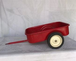 Pedal tractor wagon
