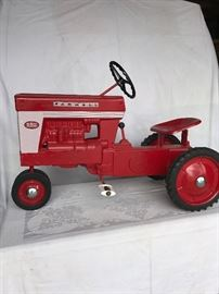 Farmall pedal tractor fully restored