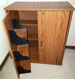 Cabinet has keys