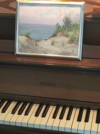 Piano  And yes that is a Charles Victory preview painting signed