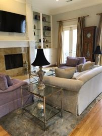 Inner loop luxury townhome estate sale living room
