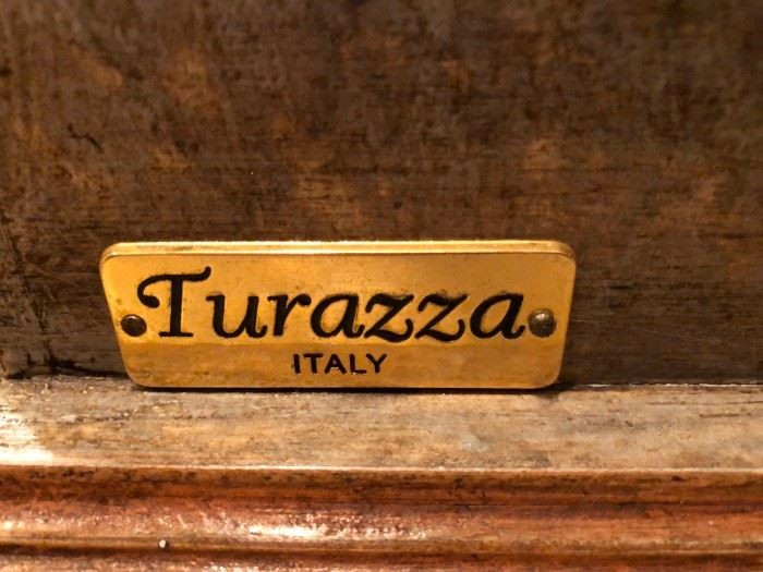 Turazza Italian painted sideboard