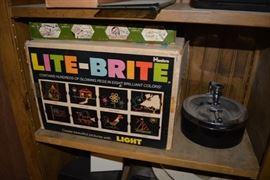 Vintage NOS Lite Brite Toy