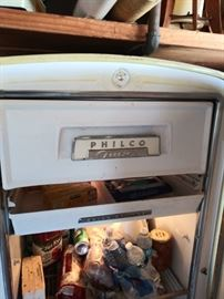 Philco Fridge Working
