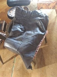 Leather German Pants