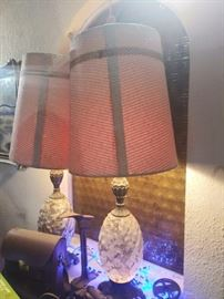 Hollywood regency Lamps