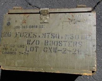 1953 and 1954 US Army Original Fuse Box.