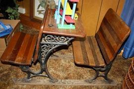 Great Piece! Early 1900's School Desk's