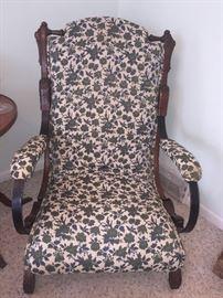 Palmer's antique platform rocking chair- New York