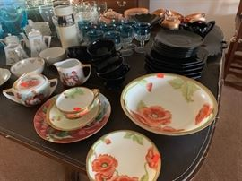 Beautiful hand-painted china from the early 1900's.